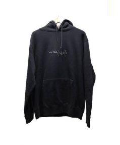YOHJI YAMAMOTO×NEW ERA(ヨウジヤマモト×ニューエラ)の古着「Sweat Pullover Hoodie」|ブラック