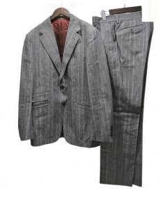 NIGOLD by UNITED ARROWS(ニゴールド バイ ユナイテッドアローズ)の古着「3ピーススーツ」|グレー
