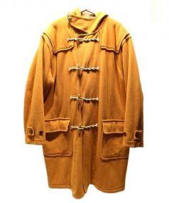 NIGEL CABOURN(ナイジェルケーボン)の古着「ロングダッフルコート」|オレンジ