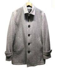 BLACK LABEL CRESTBRIDGE(ブラックレーベルクレストブリッジ)の古着「ステンカラーコート」|グレー