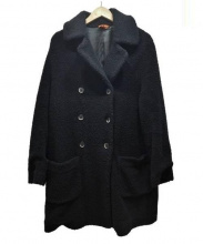 BARENA(バレナ)の古着「ボアコート」|ブラック