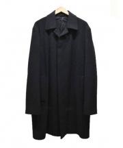 Calvin Klein(カルバンクライン)の古着「カシミヤウールチェスターコート」 ブラック
