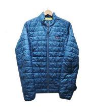 Patagonia(パタゴニア)の古着「パフジャケット」 ブルー
