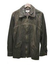 BARNEYS NEWYORK(バーニーズニューヨーク)の古着「レザージャケット」|ブラウン