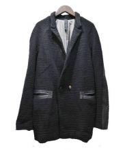GIORGIO BRATO(ジョルジオブラット)の古着「ウールジャケット」 ブラック