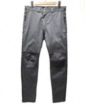 GANRYU(ガンリュウ)の古着「バイカーパンツ」|グレー