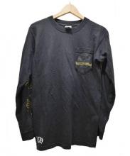 CHROME HEARTS(クロムハーツ)の古着「長袖カットソー」|ブラック