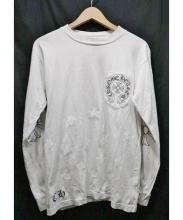 CHROME HEARTS(クロムハーツ)の古着「ロングスリーブカットソー」|ホワイト