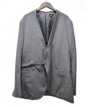 EN ROUTE(エンルート)の古着「ウールトロノーカラージャケット」|グレー
