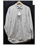 TONE(トーン)の古着「ストライプシャツ」|ブルー
