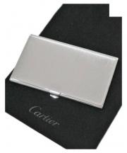 Cartier(カルティエ)の古着「名刺入れ」 シルバー