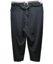 YohjiYamamoto pour homme(ヨウジヤマモトプールオム)の古着「ウールギャババルーン袴パンツ」 ブラック