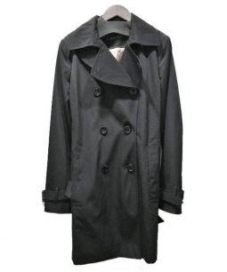 Calvin Klein(カルバンクライン)の古着「トレンチコート」 ブラック