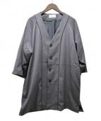 EN ROUTE(アンルート)の古着「ノーカラージャケット」|グレー