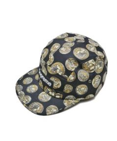 Supreme(シュプリーム)の古着「Coins Camp Cap」|ブラック