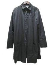Sise(シセ)の古着「ステンカラーコート」|ブラック