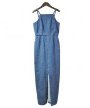 SINME(シンメ)の古着「デニムキャミソールワンピース」|インディゴ