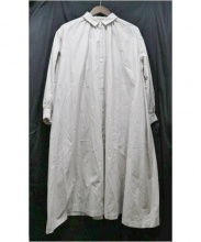 mina perhonen(ミナペルフォネン)の古着「matineeシャツドレス」|ライトベージュ