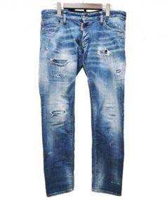 DSQUARED2(ディースクエアード)の古着「REGULAR CLEMENT JEAN」|インディゴ
