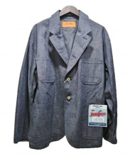 UNIVERSAL OVERALL(ユニバーサルオーバーオール)の古着「カバーオールジャケット」|ネイビー