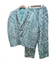 POST IMPERIAL(ポスト・インペリアル)の古着「総柄コーデュロイセットアップ」 グリーン