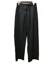 MM6(エムエムシックス)の古着「イージーワイドパンツ」 ブラック
