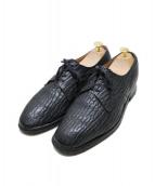 Church's(チャーチ)の古着「Seal Skin Shoes」|ブラック