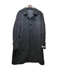 SANYO(サンヨウ)の古着「カシミヤコート」|ブラック