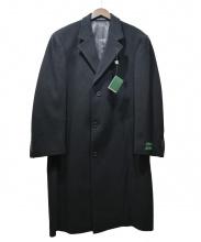 LAUREN RALPH LAUREN(ローレン ラルフローレン)の古着「カシミヤチェスターコート」|ブラック