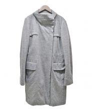 CIVIDINI(チヴィディーニ)の古着「ウールカシミヤスタンドカラーコート」