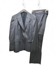 GUCCI(グッチ)の古着「モヘヤ混セットアップ」|グレー