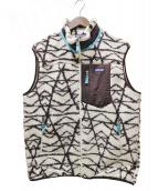 Patagonia(パタゴニア)の古着「クラシックレトロXベスト」 ブラウン×オフホワイト