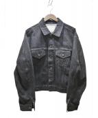 UNUSED(アンユーズド)の古着「デニムジャケット」|ブラック