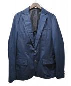 kolor/BEACON(カラービーコン)の古着「テーラードジャケット」 ネイビー