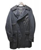 JUNYA WATANABE CDG(ジュンヤワタナベ コムデギャルソン)の古着「ポケットデザイントレンチコート」|ブラック