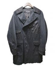 JUNYA WATANABE CDG(ジュンヤワタナベ コムデギャルソン)の古着「ポケットデザイントレンチコート」 ブラック