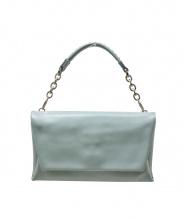 土屋鞄(ツチヤカバン)の古着「ハンドバッグ」|黄緑