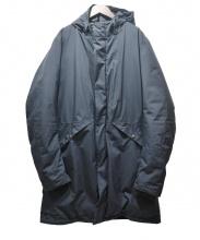 HERNO(ヘルノ)の古着「Laminar2レイヤーゴアテックスフーデッドダウンコート」|ブラック