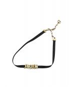 Christian Dior(ディオール)の古着「JADIORチョーカー」|ブラック