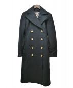 D&G(ディーアンドジ)の古着「ロングコート」|ブラック