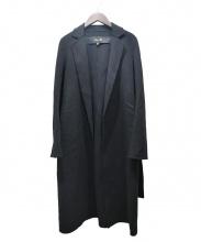 Drawer(ドロワー)の古着「ダブルイフェイスカシミヤ混コート」