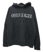 Supreme(シュプリーム)の古着「コーデュロイカレッジロゴプルオーバーパーカー」