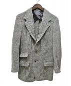 SOVEREIGN(ソブリン)の古着「ウールジャケット」|ホワイト×グレー