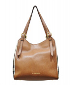 BURBERRY(バーバリー)の古着「The Small Canter Leather Tote」