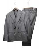 UNITED ARROWS(ユナイテッド アローズ)の古着「ガンクラブチェックセットアップスーツ」|グレー