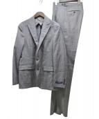 POLO RALPH LAUREN(ポロ バイ ラルフローレン)の古着「グレンチェックセットアップスーツ」