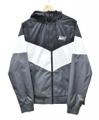 NIKE(ナイキ)の古着「Windrunner Jacket」|ブラック×ホワイト