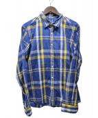 SOPHNET.(ソフネット)の古着「長袖シャツ」 ネイビー
