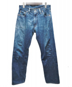 LEVIS VINTAGE CLOTHING(リーバイス ヴィンテージ クロージング)の古着「ジップフライデニムパンツ」|ネイビー