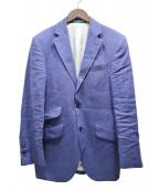 HACKETT LONDON(ハケットロンドン)の古着「リネンテーラードジャケット」|ブルー